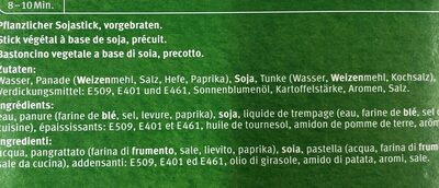 Vegane Bâtonnets croquants mode marine - Ingredients