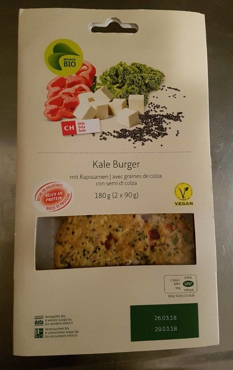Kale Burger - Product