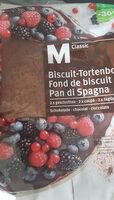 Fond de biscuit - Product