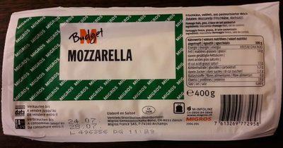 Mozzarella M-Budget - Product - fr
