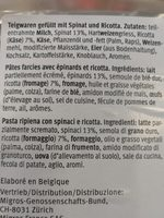 Lasagne forentina - Ingredienti - fr