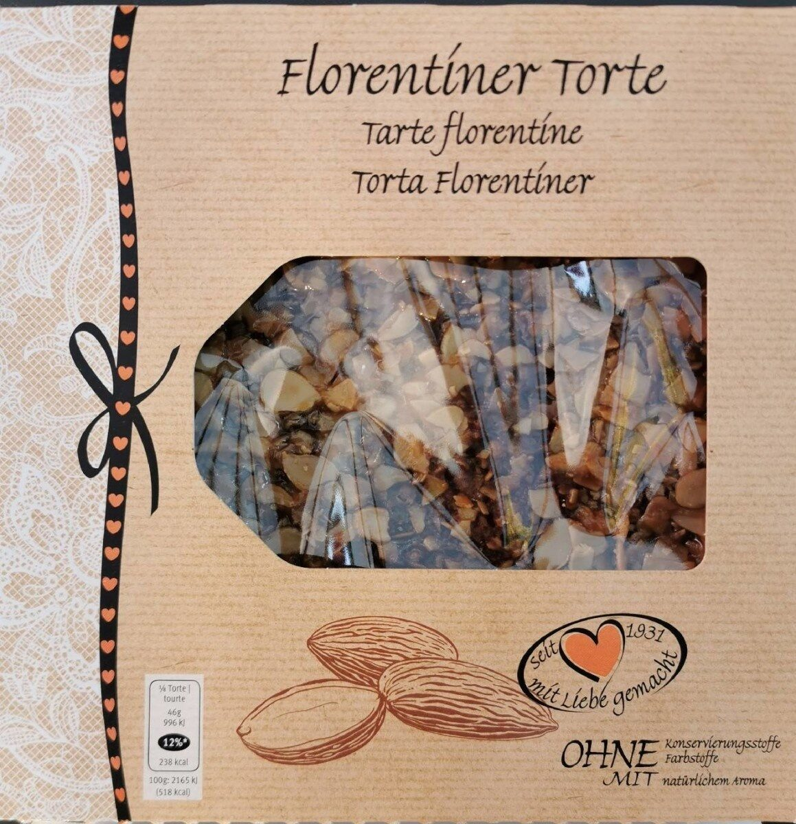 Tarte florentine - Product