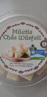 Müetis Chäswürfeli - Produkt