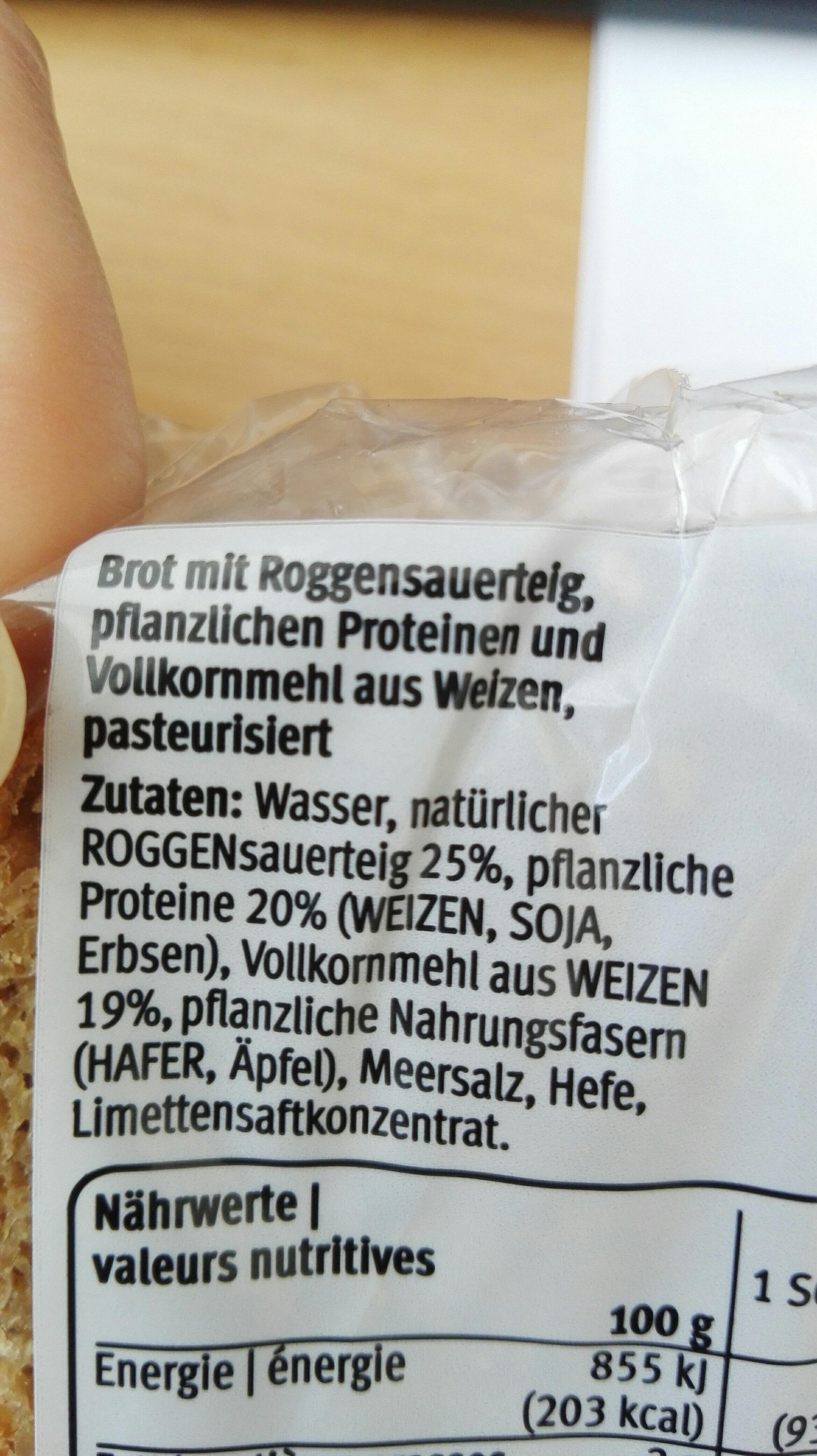 Pain proteiné - Ingrediënten - de