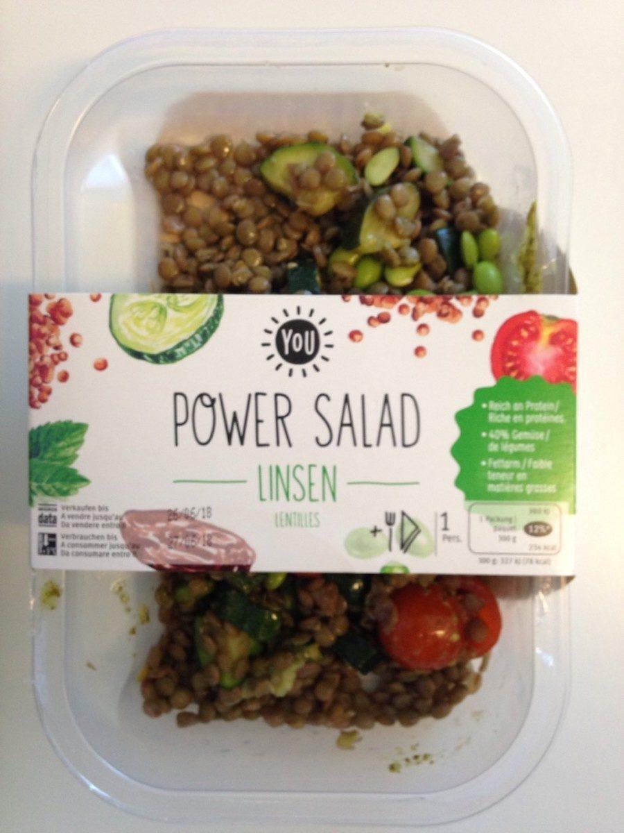 Power Salade - Lentilles - Product - fr