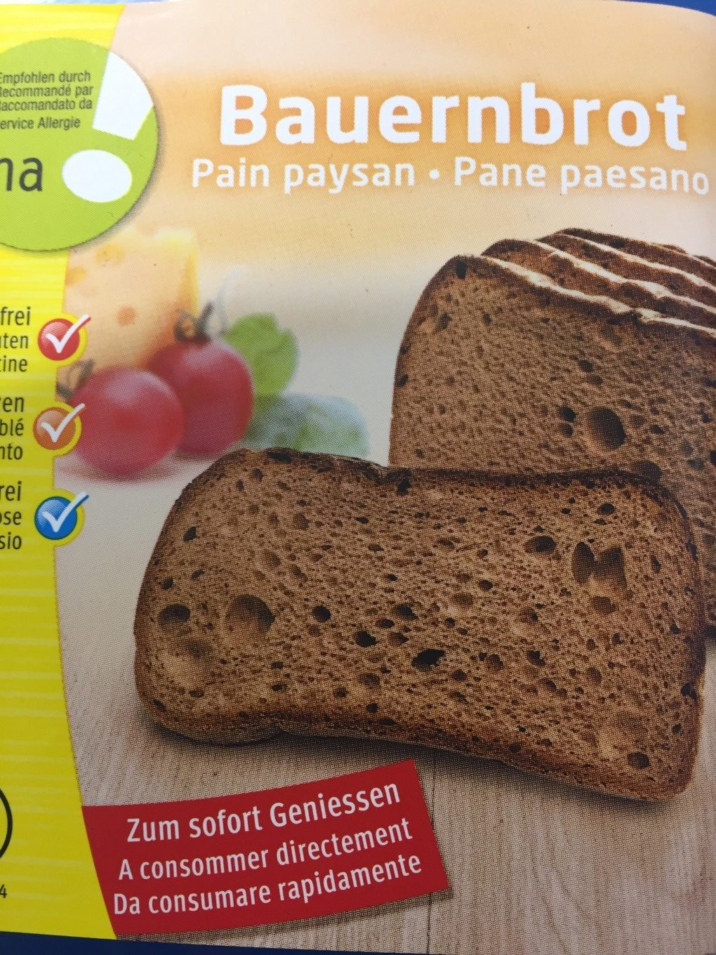 Bauernbrot - Product - fr