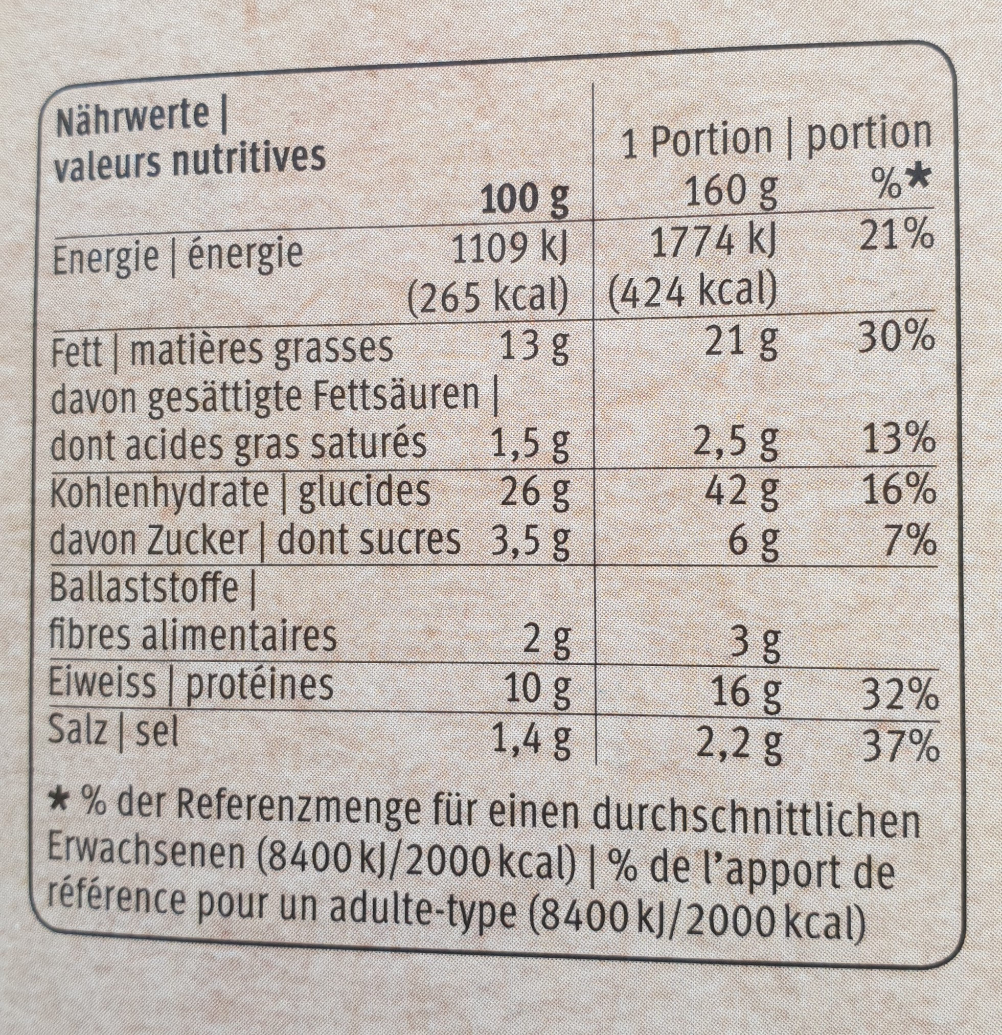 Club sandwich thon tomate - Nutrition facts - fr