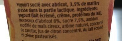 Yogurt - Ingrediënten