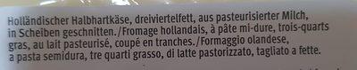Edamer - Ingredients - fr