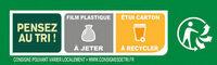 BUITONI FOUR A PIERRE pizza surgelée Jambon Fromages MAXI 3x315g - Instruction de recyclage et/ou informations d'emballage - fr