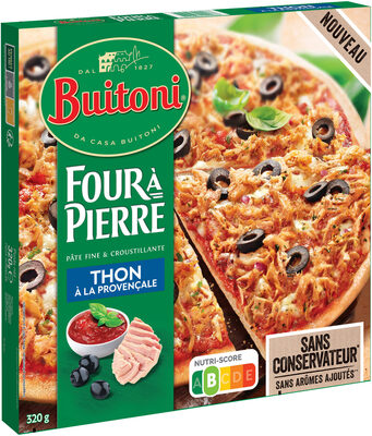 BUITONI FOUR A PIERRE Pizza Surgelée Thon à la Provençale - Produit - fr