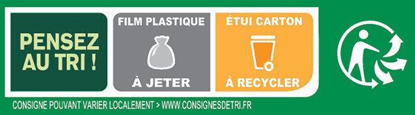 BUITONI FOUR A PIERRE Pizza Surgelée Thon à la Provençale - Instruction de recyclage et/ou informations d'emballage - fr