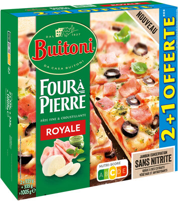 BUITONI FOUR A PIERRE Pizza Royale 3x335g - Produit - fr