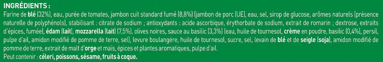 BUITONI FOUR A PIERRE Pizza Royale 3x335g - Ingrédients - fr