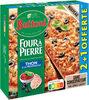 BUITONI FOUR A PIERRE Pizza Surgelée Thon à la Provençale 3 packs x 320g (x3 maxi format) - Produit