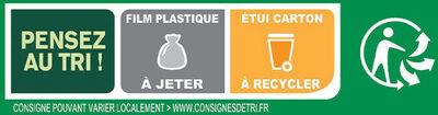 BUITONI FOUR A PIERRE Pizza Surgelée Thon à la Provençale 3 packs x 320g (x3 maxi format) - Instruction de recyclage et/ou informations d'emballage - fr