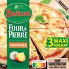 BUITONI FOUR A PIERRE Pizza Surgelée Fromages 3 packs x 315g (x3 maxi format) - Produto