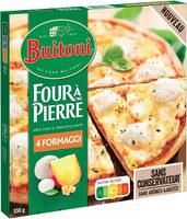 BUITONI FOUR A PIERRE Pizza Surgelée 4 Fromages - Produit - fr