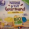 P'tit gourmand vanille - Produit