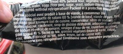 Pocket sandwich - Ingrediënten - en