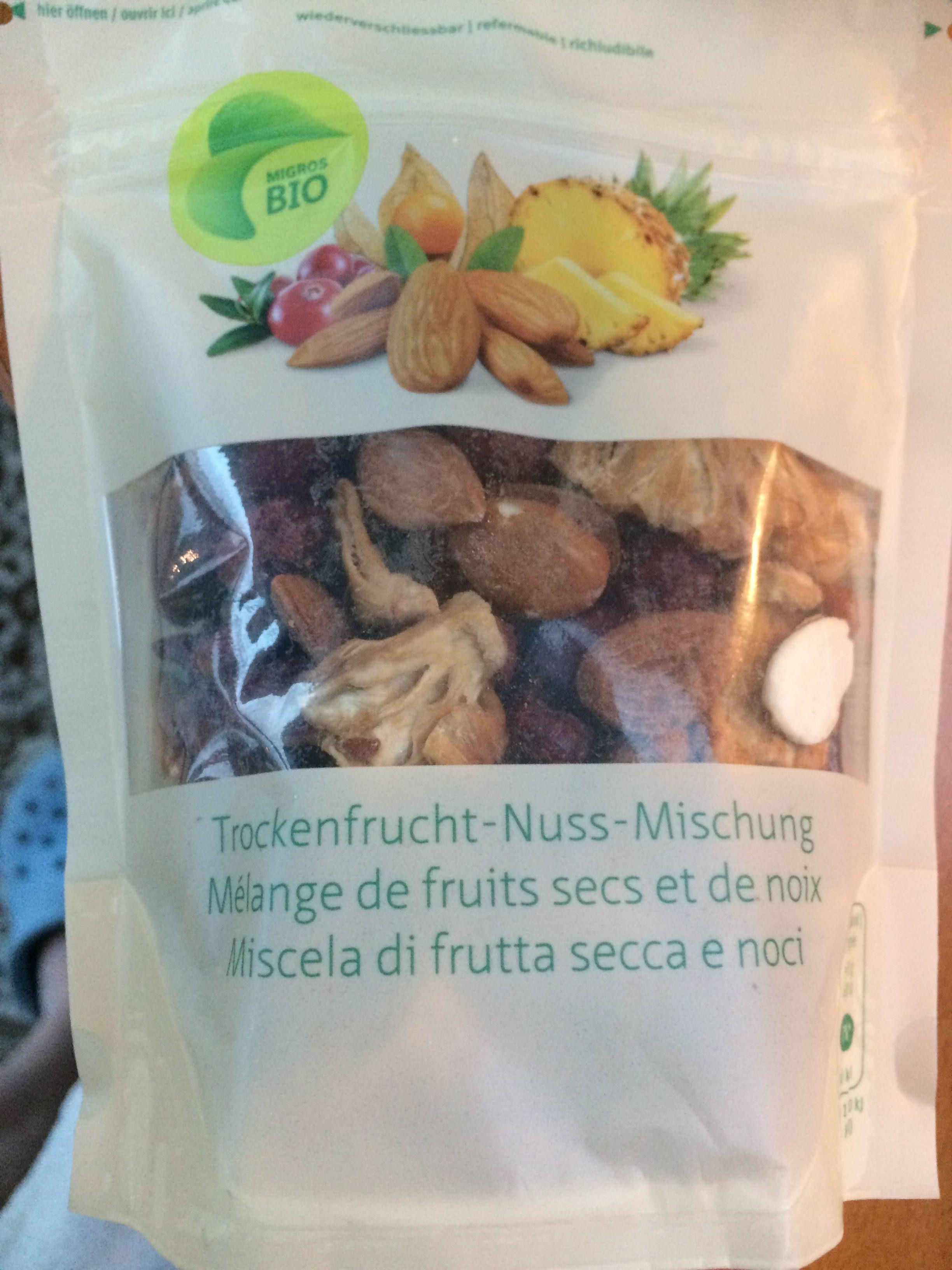 Trockenfrucht-nussmischung, Mandeln, Ananas, Cranb. .. - Product