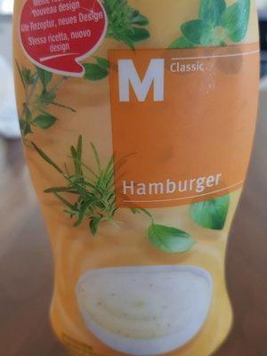 M classic Sauce Hamburger - Produit - fr