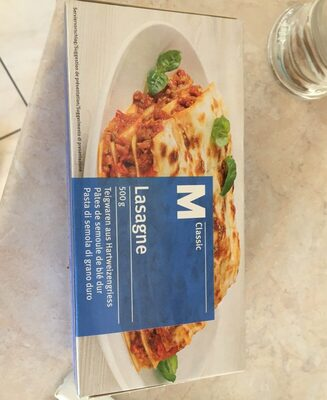 M-classic Lasagne - Produit