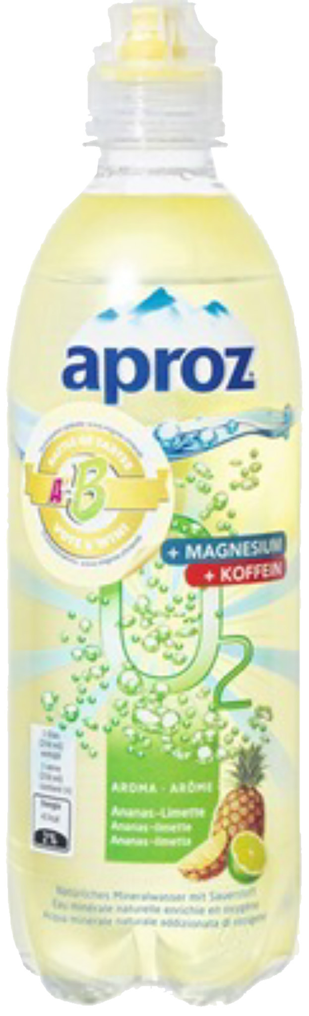 Aproz O2 Function Ananas-Lime - Product - fr