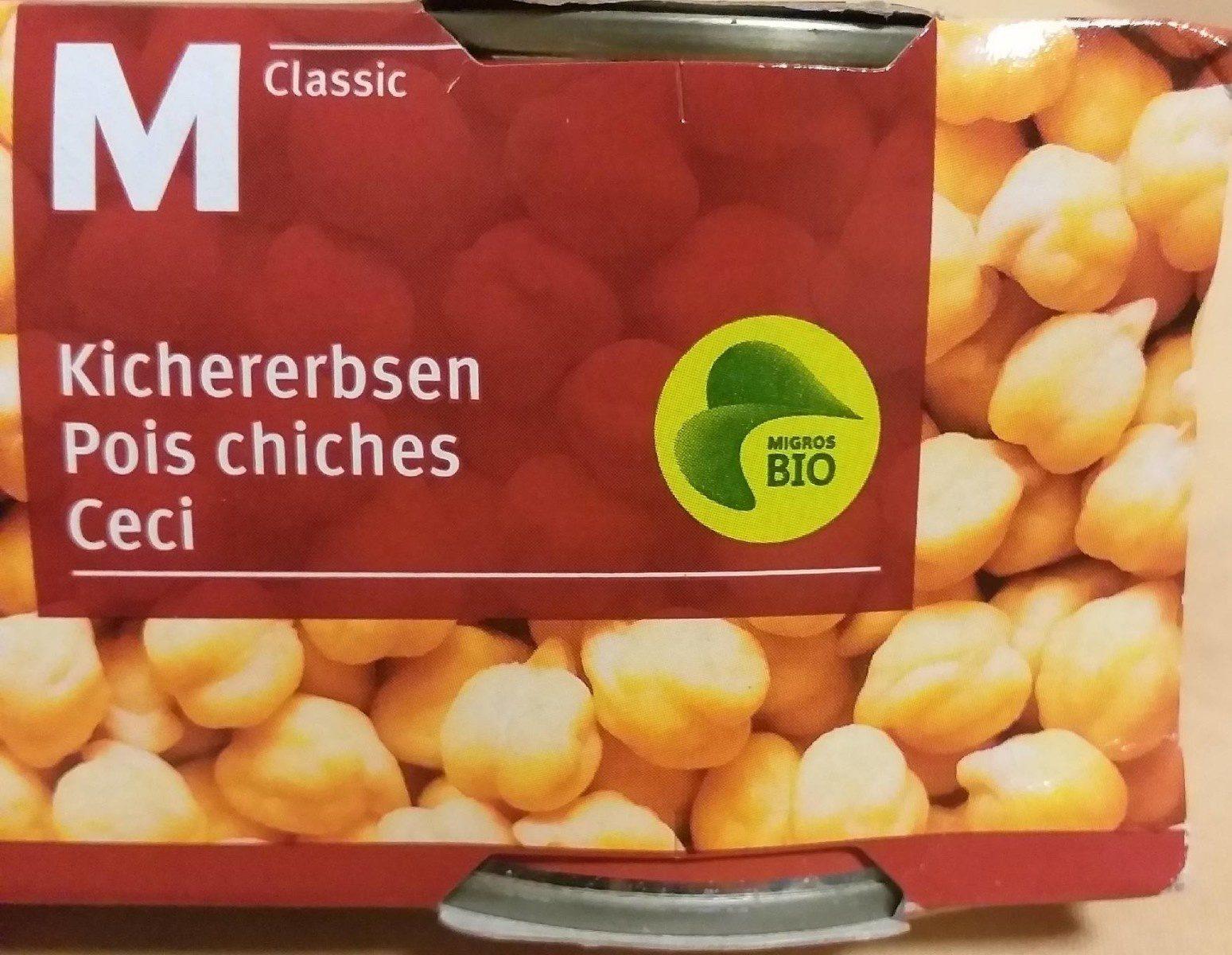Migros Bio M classic Pois chiches - Produkt - fr