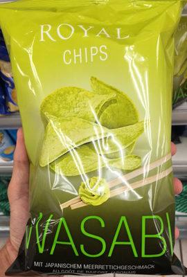 Royal Chips Wasabi - Product - fr