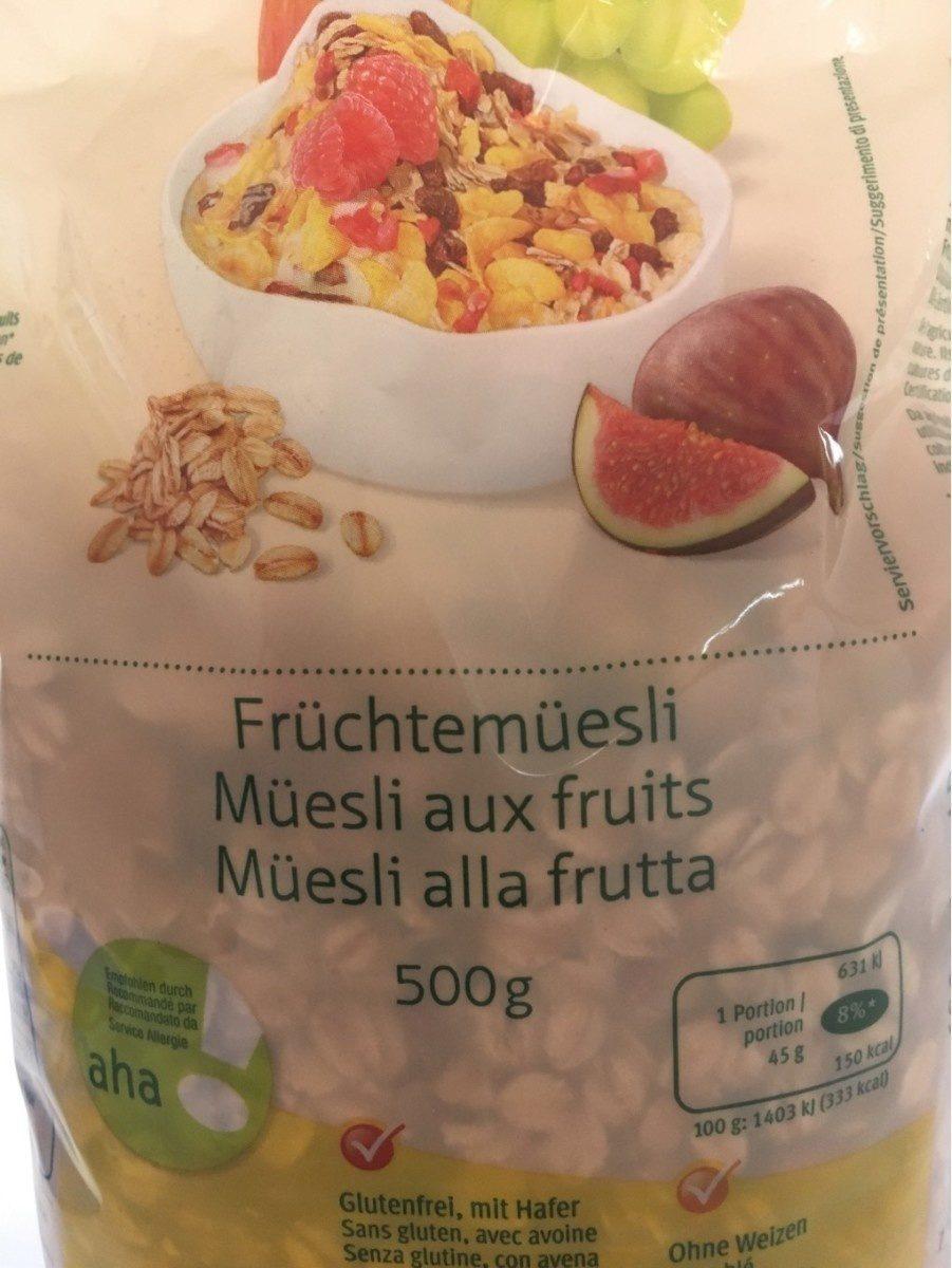 Müesli aux fruits - Product