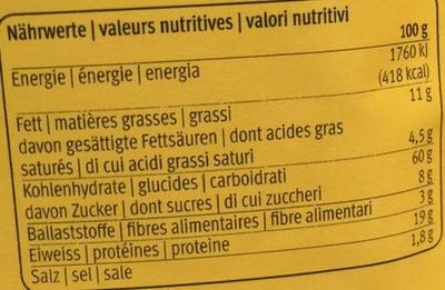 Crêpes Mix - Valori nutrizionali - fr