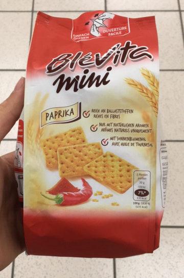 Blévita Mini Paprika - Produit - fr
