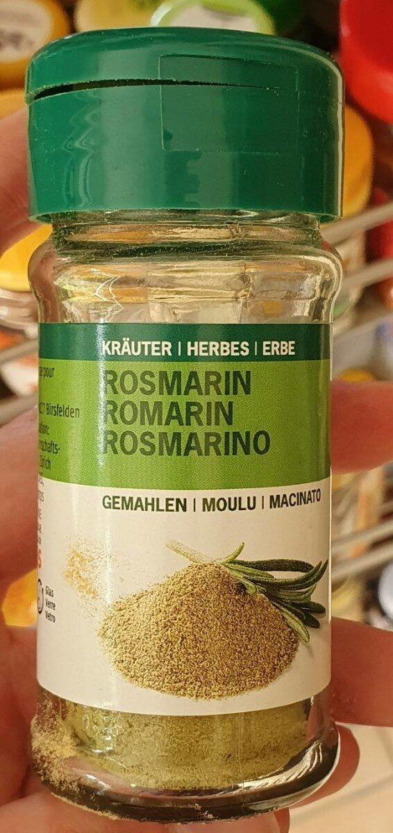 Rosemary moulu - Product - fr