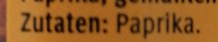 Paprika Edelsüss - Zutaten - de