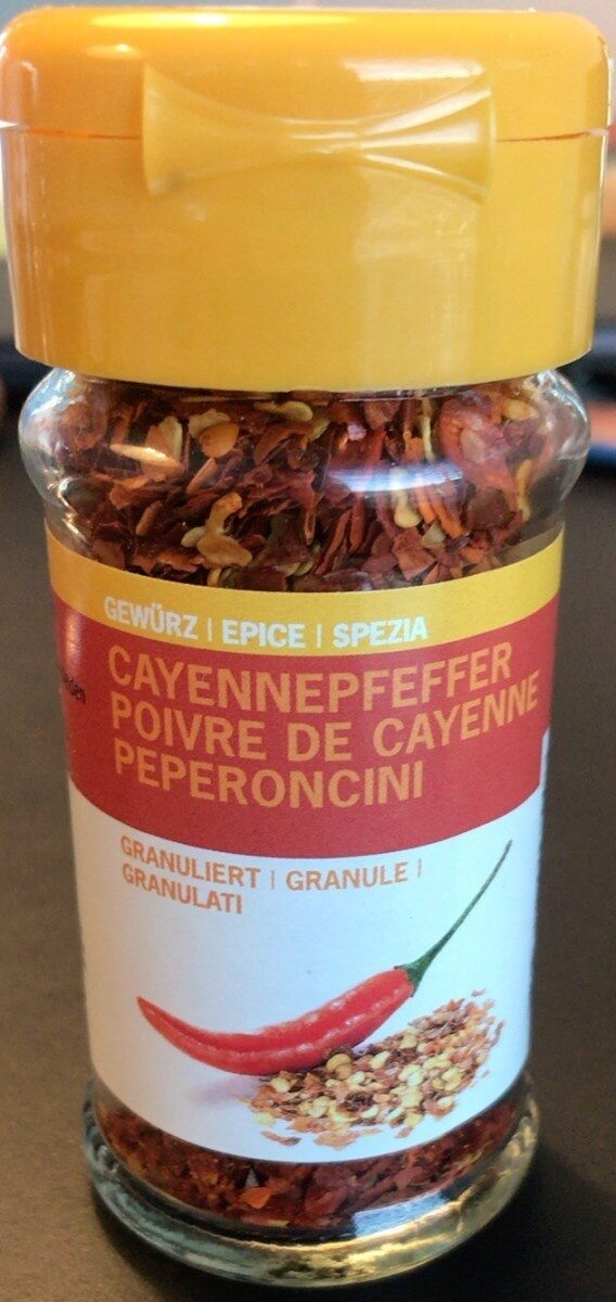Cayennepfeffer - Prodotto - fr