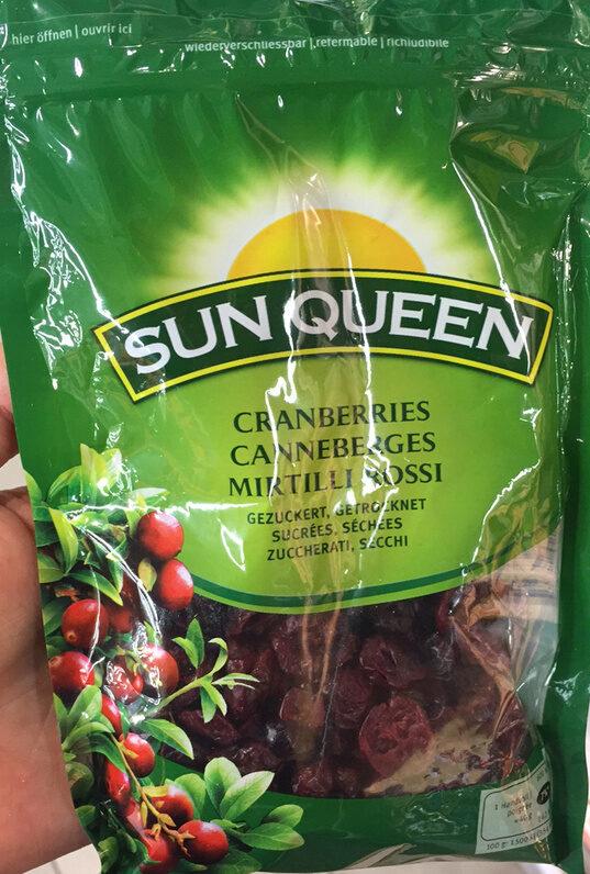 Canneberges sucrées, séchées - Product - fr