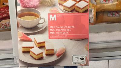 Mini-mille feuilles - Produit