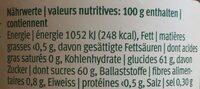 Bio Erdbeeren Konfitüre - Ingrédients - fr