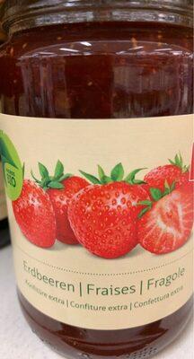 Bio Erdbeeren Konfitüre - Informations nutritionnelles