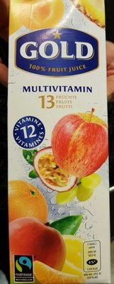 Gold Multivitamin saft 1L - Product - fr
