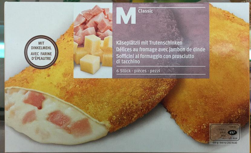 Délices au fromage avec jambon de dinde - Product - fr