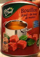 Bouillon Rind-de boeuf di manzo - Product - fr