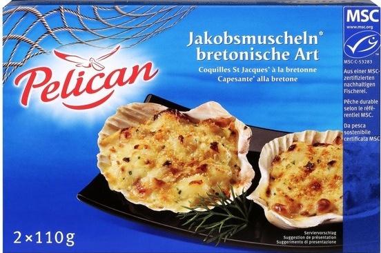 Coquilles St Jacques à la bretonne - Product
