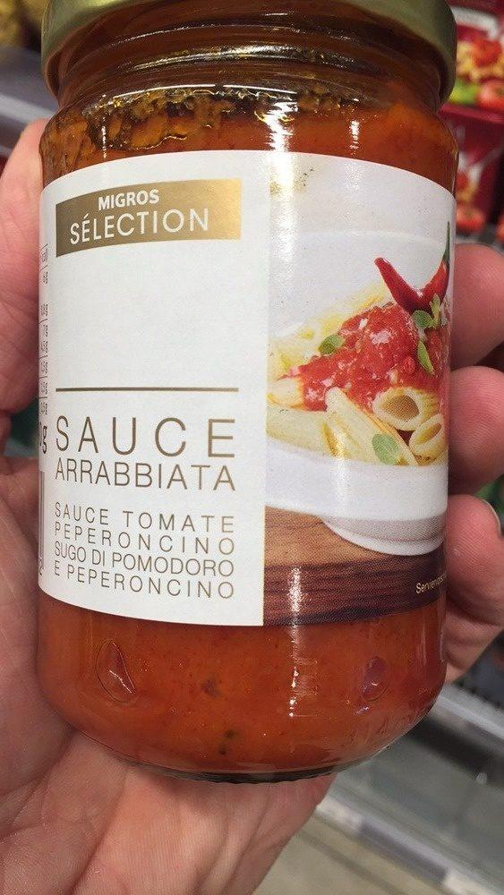 Arrabbiata Sauce Tomate Peperoncino - Produkt - fr