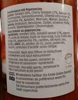 Arrabbiata Sauce Tomate Peperoncino - Inhaltsstoffe - fr