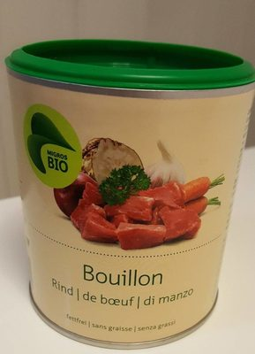 Bouilon de boeuf bio - Product - fr
