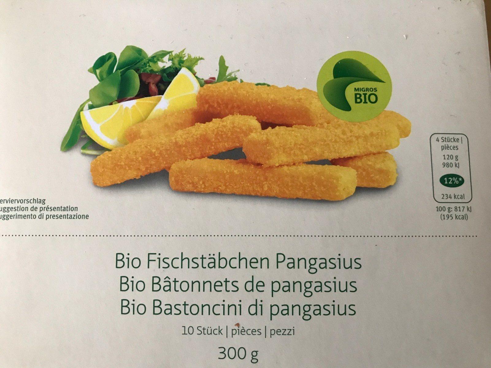 Bio Batonnets de pangasius - Product - fr
