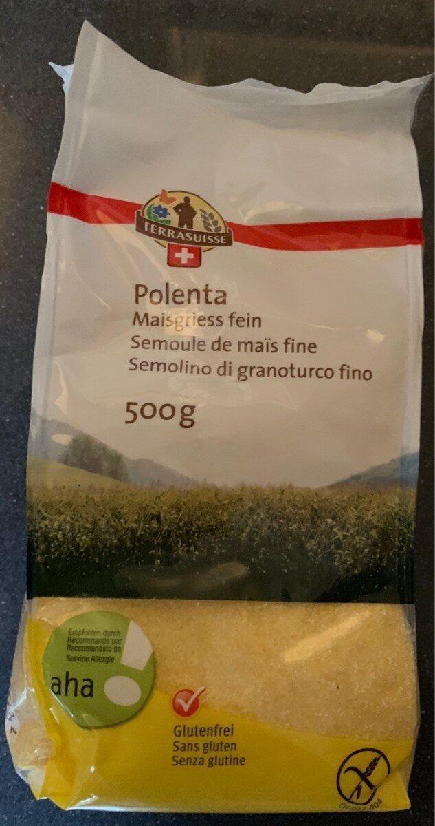 Polenta Semoule de maïs fine - Prodotto - fr