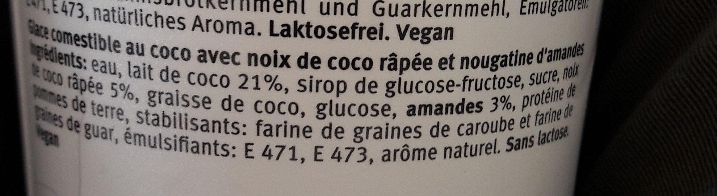 Coco Ice-Land - Ingredienti - fr